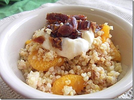 Cinnamon Spiced Warm Orange Millet with Dates (6)