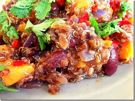 Roasted Butternut Squash Red Quinoa Chilli (20)