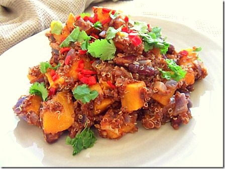 Roasted Butternut Squash Red Quinoa Chilli (21)