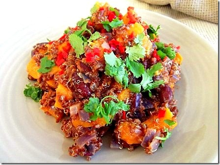 Roasted Butternut Squash Red Quinoa Chilli (26)