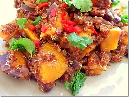 Roasted Butternut Squash Red Quinoa Chilli (2)