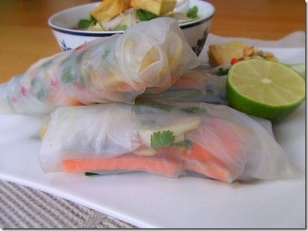 Summer Spring Rice Rolls with Vietnamese Rice Noodle Soup (68)