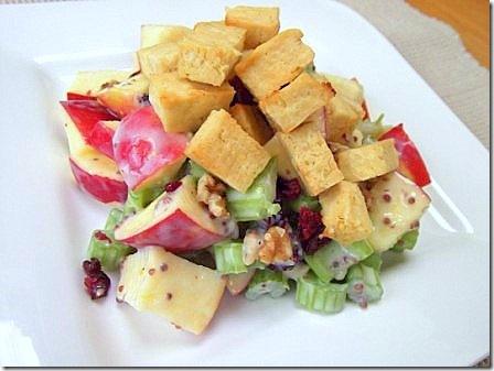 Vegan Tofu Waldorf Salad (31)