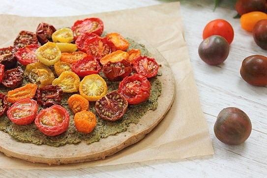 Pesto Buckwheat Pizza (11)