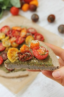 Pesto Buckwheat Pizza (26)