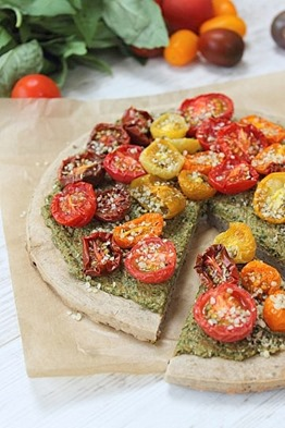 Pesto Buckwheat Pizza (35)