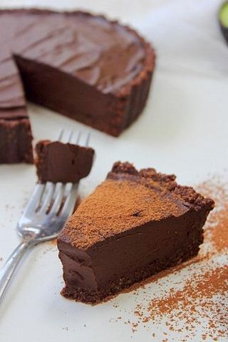 Raw Chocolate Fudge Tart (26)