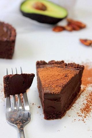 Raw Chocolate Fudge Tart (27)