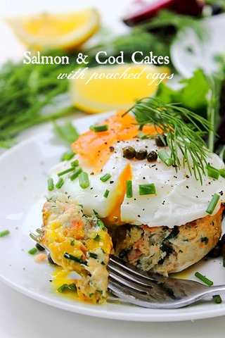 Smoked Salmon And Cod Cakes Recipe Dishmaps