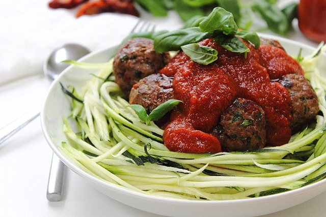 Italian Turkey Meatballs With Sun-Dried Tomato And Basil Recipes ...