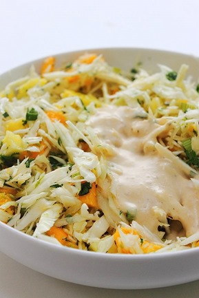 Tropical Fruit Coconut Slaw (10)