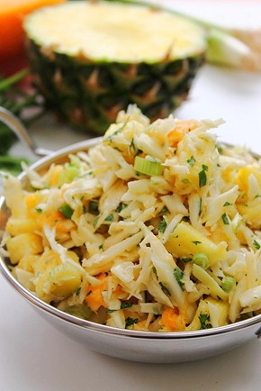 Tropical Fruit Coconut Slaw (11)