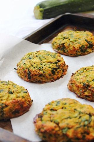 Baked Paleo Zucchini Fritters