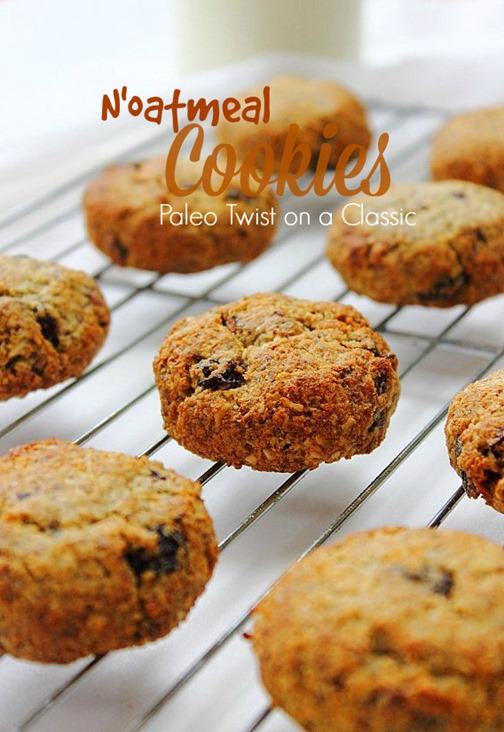 Paleo N'Oatmeal Cookies (20) Title