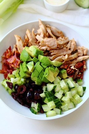 Chicken Bacon Avocado Salad (5)
