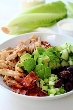 Chicken Bacon Avocado Salad (6)