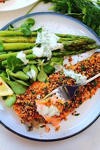 Sea Trout Recipes Simple hazelnut crusted rainbow sea trout