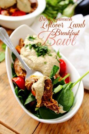 Baba Ganoush Breakfast Bowl