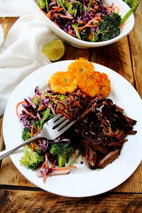 Tostones and short ribs (1)