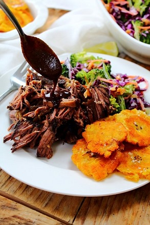 Tostones and short ribs (3)