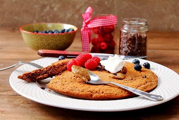 Jumbo Chocolate Protein Pancake (11)