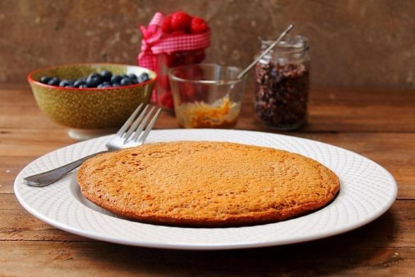 Jumbo Chocolate Protein Pancake (4)