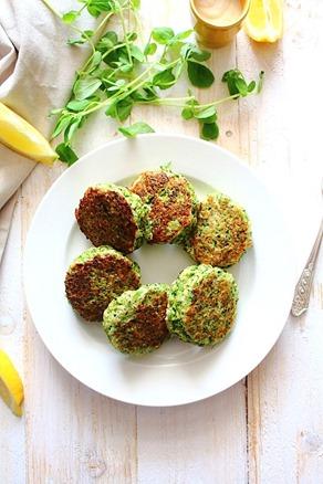Paleo Broccoli Fritters (9)